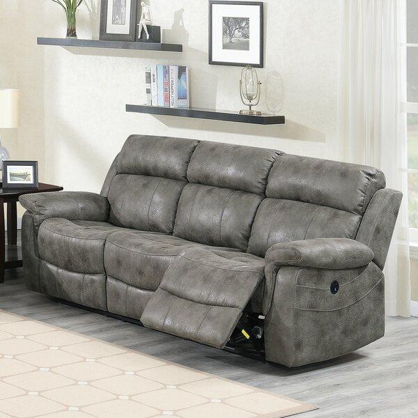 Review Aubriana Reclining Sofa