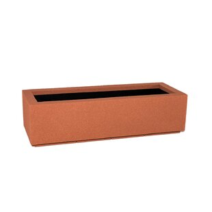Smyrna Short Polymer Planter Box