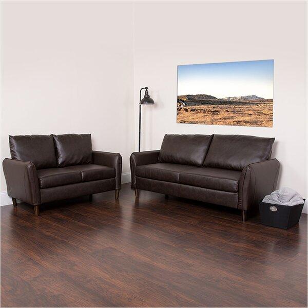 Lauderhill Upholstered 2 Piece Living Room Set by Ebern Designs