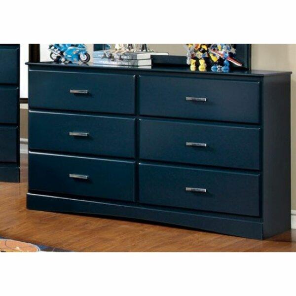 Krish 6 Drawer Double Dresser by Zoomie Kids