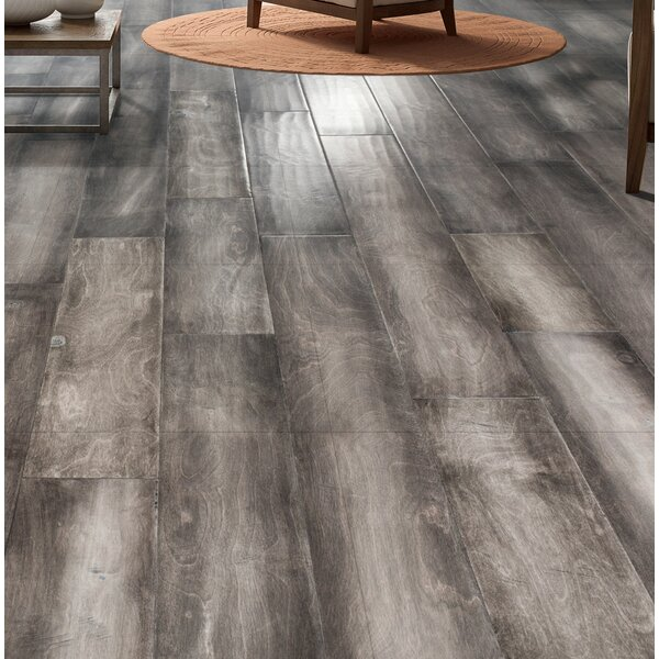 Munich 5 Engineered Birch Hardwood Flooring in Steel by Branton Flooring Collection