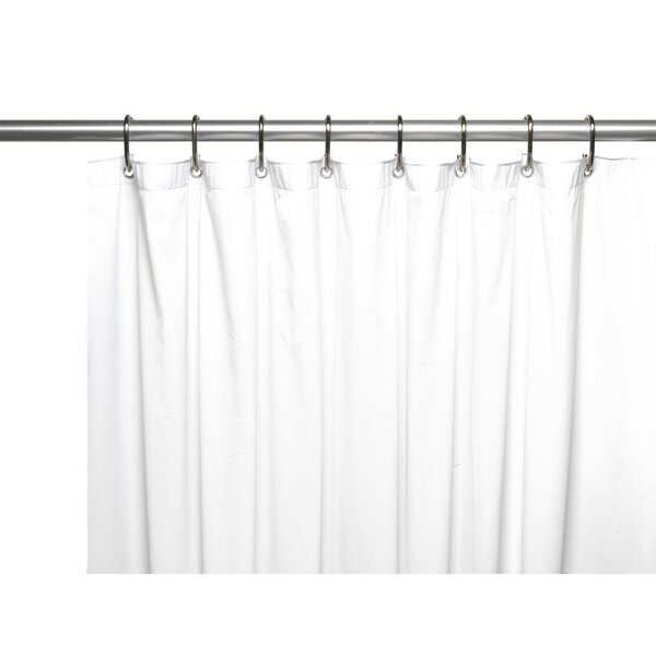 Wayfair Basics™ Wayfair Basics Vinyl Shower Curtain Liner ...