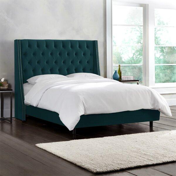 Kleber Upholstered Standard Bed Charlton Home W002088980