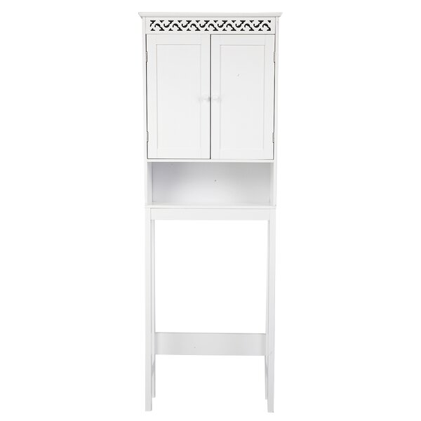 Dhaka 24.8 W x 68.11 H x 7.87 D Free-Standing Over-The-Toilet Storage