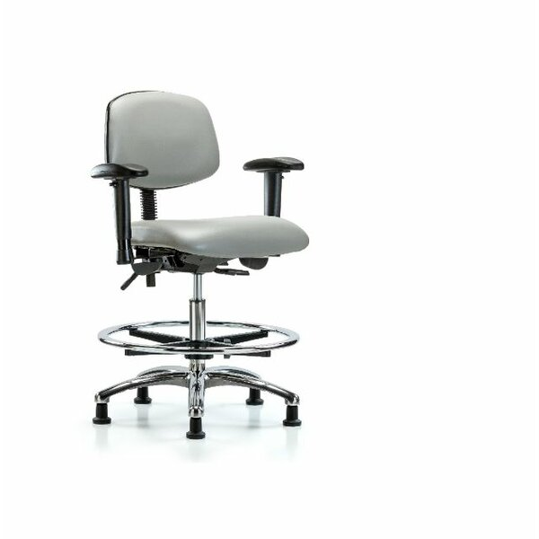 Aliya Medium Bench Office Chair by Symple Stuff