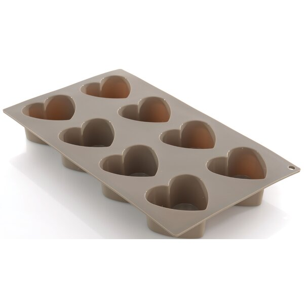 Studio 8 Cup Non-Stick Heart Cake Mold by BergHOFF International