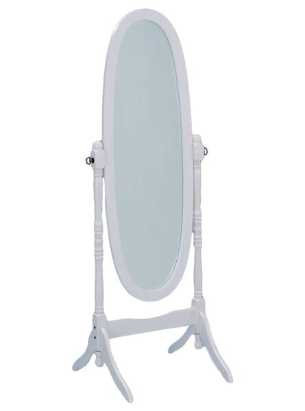 Kylie Inspired Wooden Cheval Mirror by Charlton Home