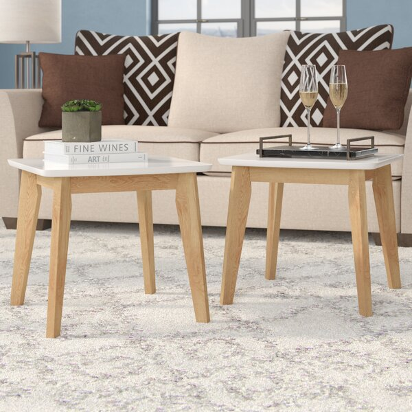 Madeleine Modern End Table (Set of 2) by Langley Street
