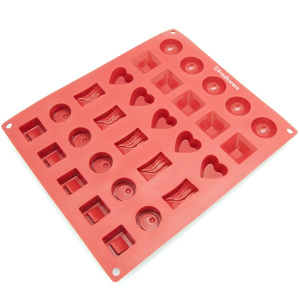 30 Cavity Silicone Mold Pan by Freshware