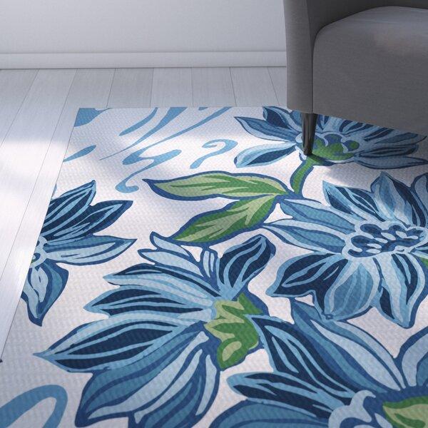 Neville Blue Indoor/Outdoor Area Rug by Zipcode Design