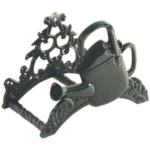Water In The Garden Iron Wall Mounted Hose Holder