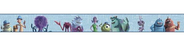 Walt Disney Kids II 9 Monsters Inc Border Wallpape
