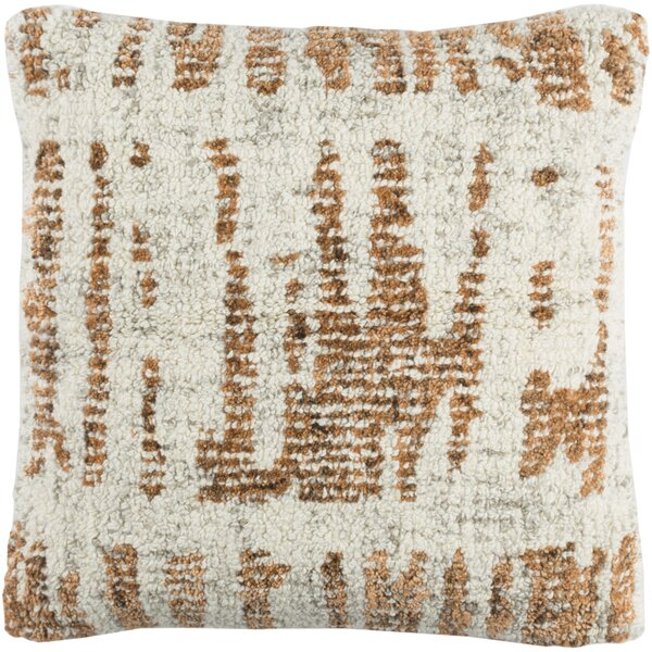 Ferreira Wool Throw Pillow by Brayden Studio