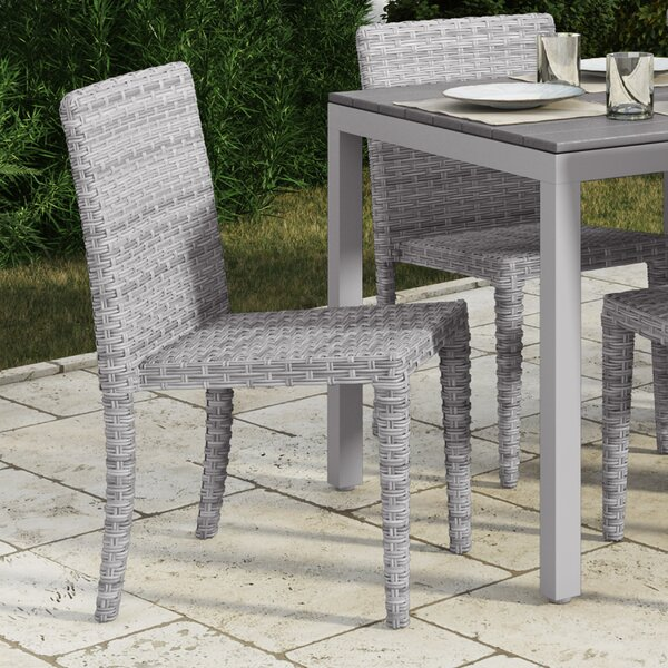 Killingworth Stacking Patio Dining Chair (Set of 4) by Rosecliff Heights