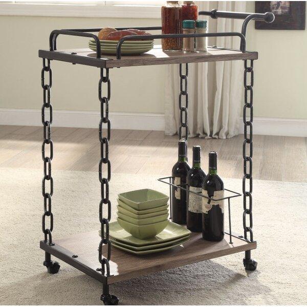 Melgar Serving Bar Cart by Williston Forge