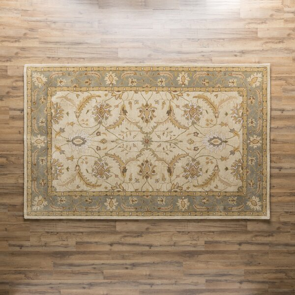 Florence Hand-Woven Putty Area Rug by Birch Lane™