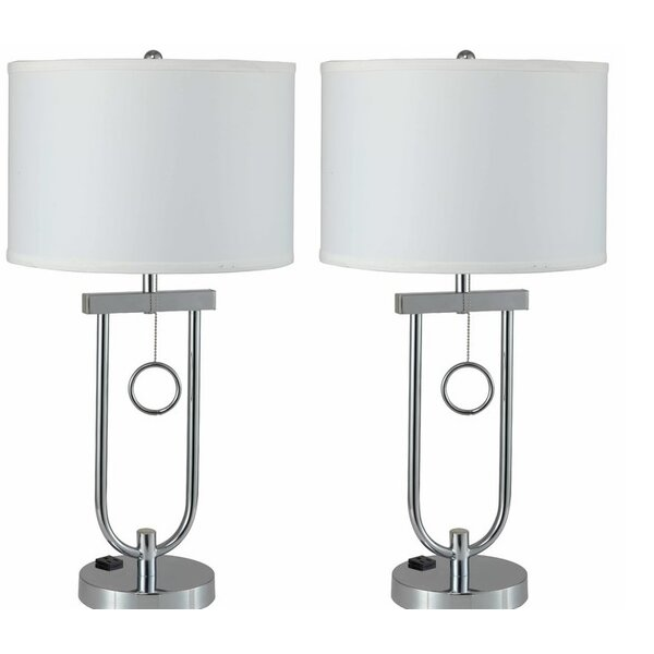 Tenesa Modern Pendulum 29 Table Lamp (Set of 2) by Latitude Run