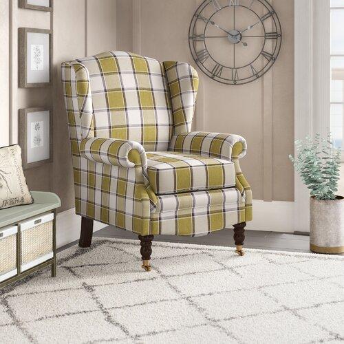 Josephson Wingback Chair Astoria Grand Upholstery: Turin Fushia