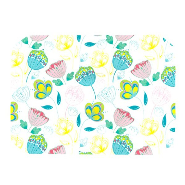 Indie Floral Placemat by KESS InHouse