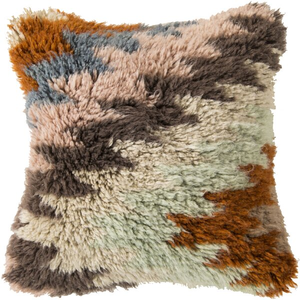 Amherst Delight Wool Throw Pillow by Mistana