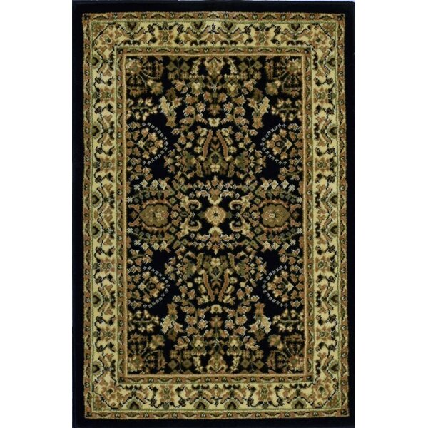 Gloucester Black Area Rug by Threadbind