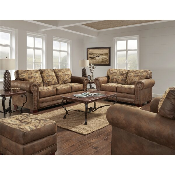 Indigo River Bend 4 Piece Living Room Set by Loon Peak
