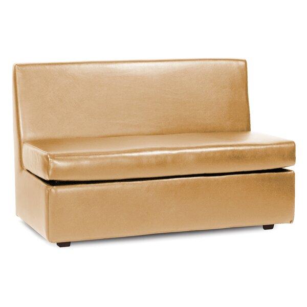 Box Cushion Loveseat Slipcover By Orren Ellis