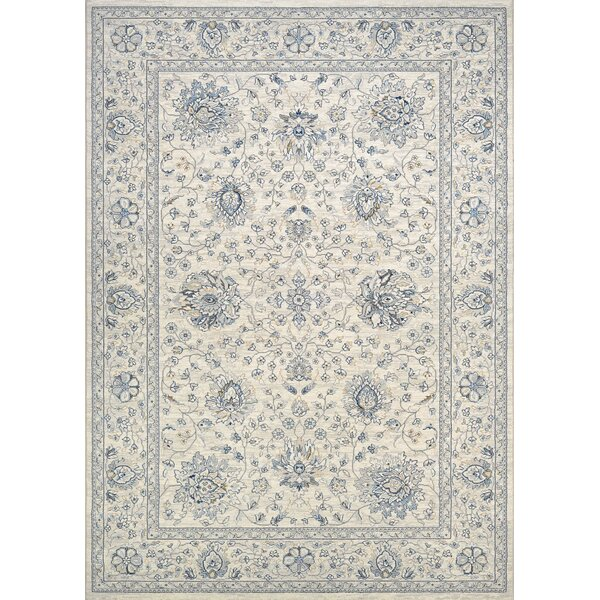 Johnston Isfahan Handmade Antique Cream Area Rug by Lark Manor