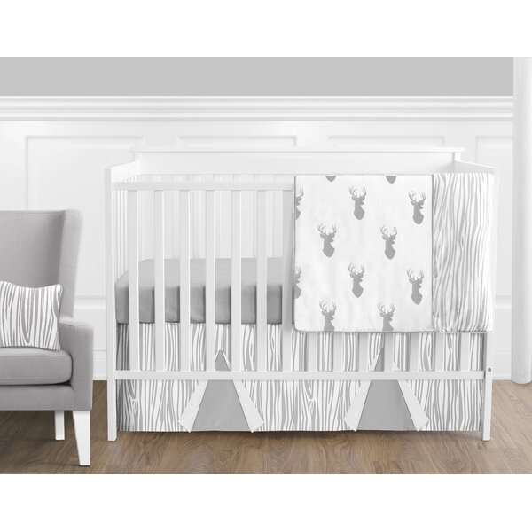 Woodland Deer 11 Piece Crib Bedding Set by Sweet Jojo Designs