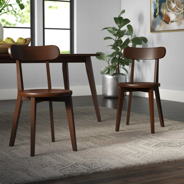 Avey Solid Wood Dining Chair (Set of 2) by Wrought Studio