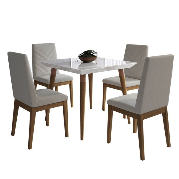 Lemington 5 Piece Dining Set by George Oliver