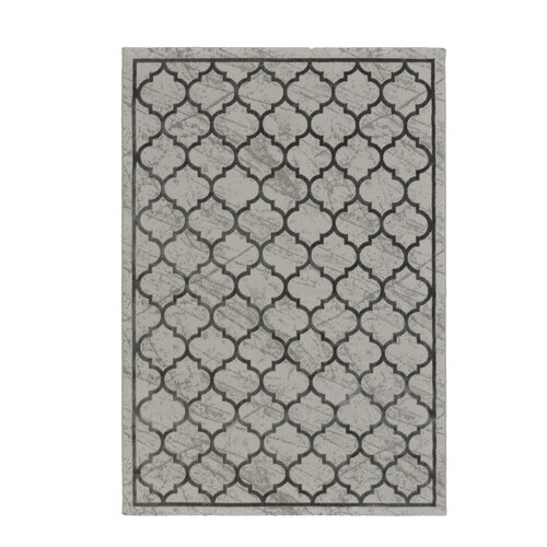 Ellesmere Hooked Grey Indoor Rug Fairmont Park Rug size: Run