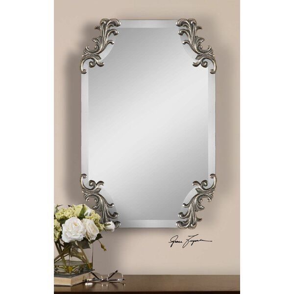 Beveled Wall Mirror darby home co borchardt beveled wall mirror & reviews | wayfair