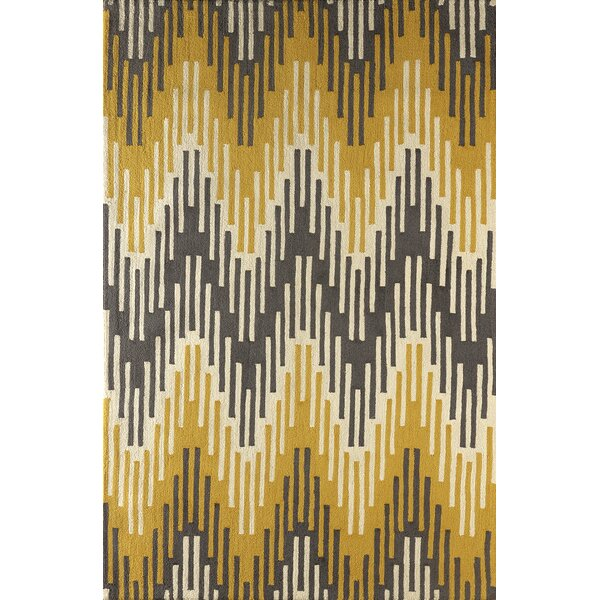 Flanary Hand Tufted Horseradish Area Rug by Bloomsbury Market