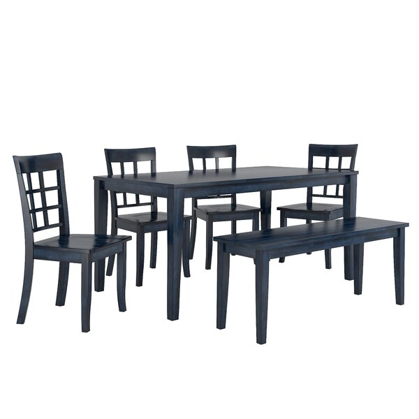 Alverson 6 Piece Dining Set by August Grove August Grove