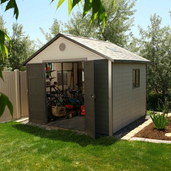 11 ft. x 11 ft. Plastic Storage Shed by Lifetime
