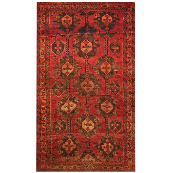 Prentice Red/Brown Area Rug