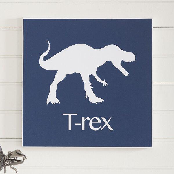 T-Rex Prehistoric Pals Wall Art by Birch Lane Kids™