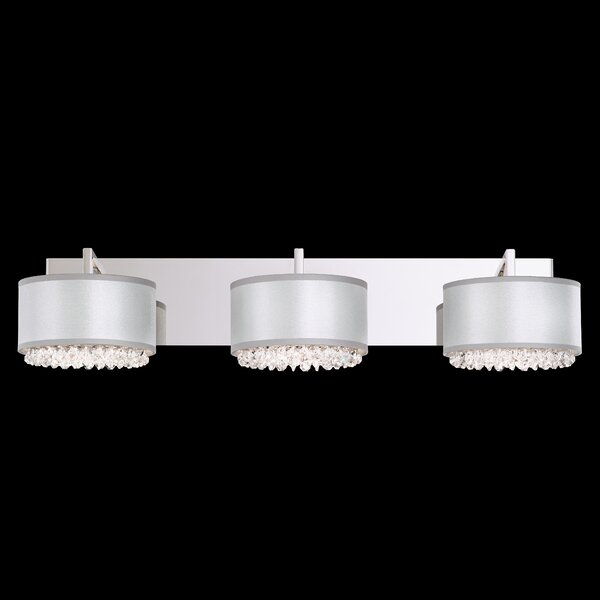 Eclyptix 3-Light Armed Sconce by Schonbek