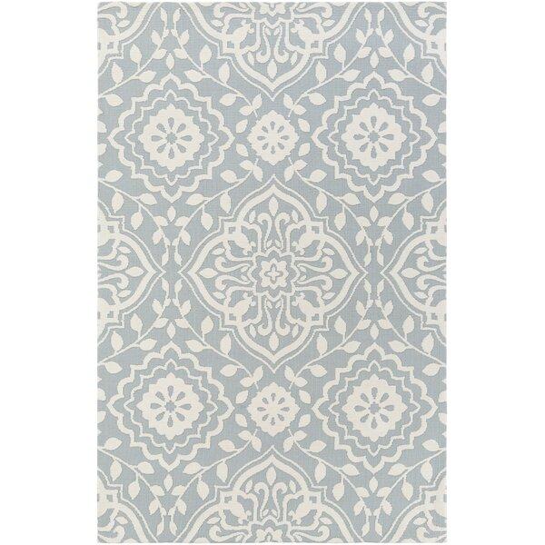 Kesler Mint/Ivory Area Rug by Ophelia & Co.
