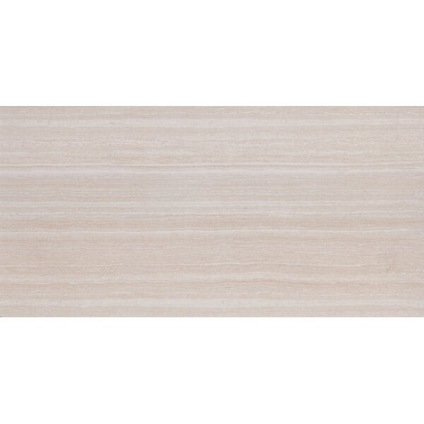 Charisma 12 x 24 Ceramic Field Tile in White by MSI