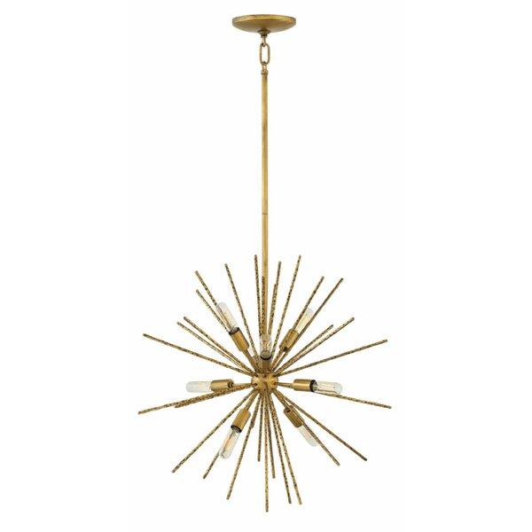 Ambriz 8-Light Sputnik Sphere Chandelier By Mercer41