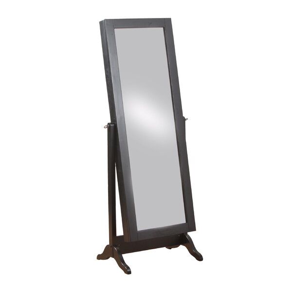 Romine Sliding Jewelry Armoire with Mirror by Latitude Run