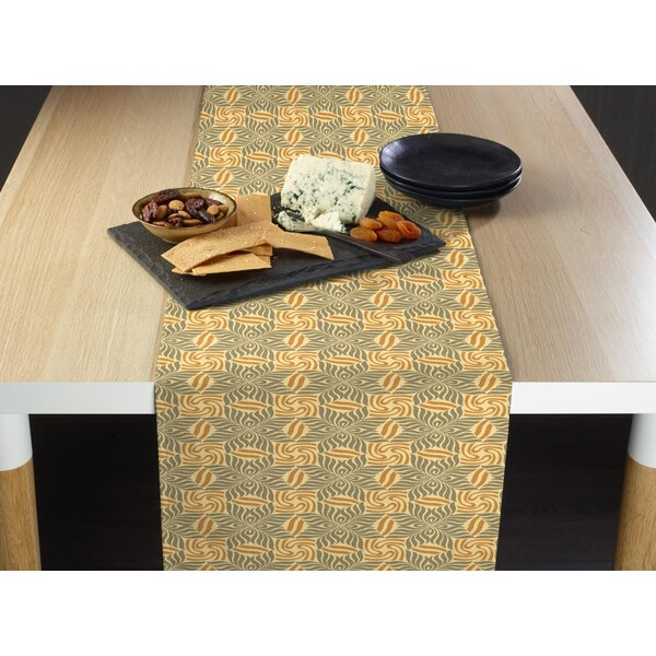 Wingert Zebra Eyes Milliken Signature Table Runner by Bloomsbury Market