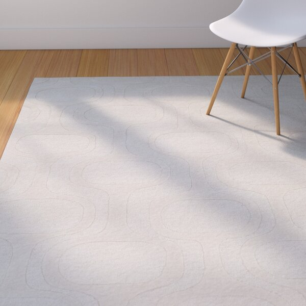 Coldspring Hand-Tufted Ivory Area Rug by George Oliver