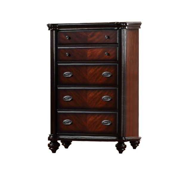 Labounty Plywood 5 Drawers Standard Dresser by Alcott Hill