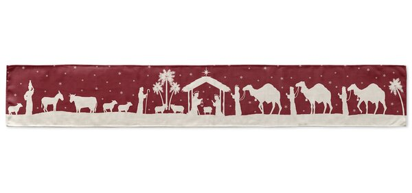 Away in a Manger Table Runner by KAVKA DESIGNS