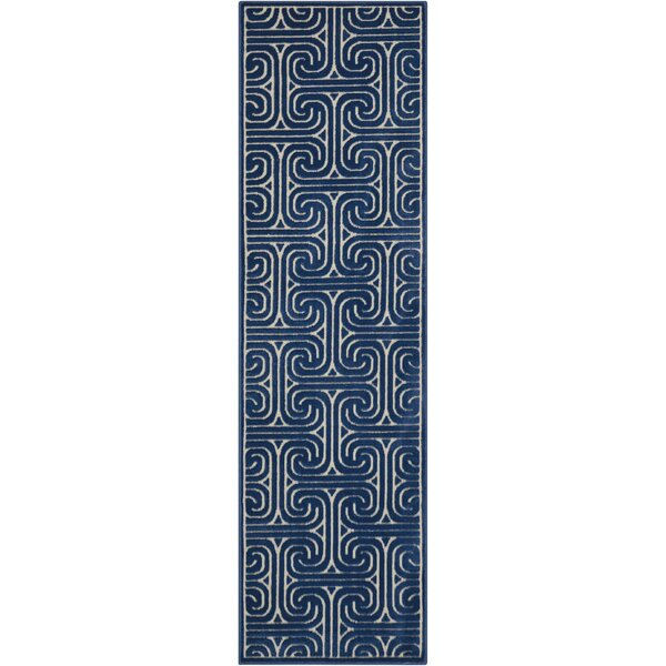 Marietta Navy Area Rug by Mercer41