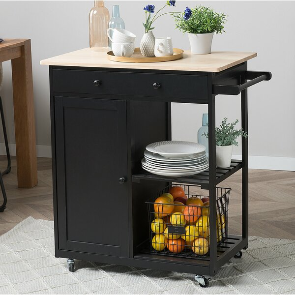 Todd Kitchen Cart by Canora Grey