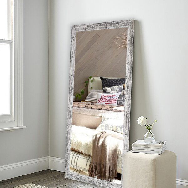 Weathered Farmhouse Full Length Mirror by August Grove
